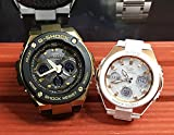 カシオCASIO 腕時計 G-SHOCK&BABY-G ペアウォッチ 純正ペアケース入り ジーショック&ベビージー 2本セット アナデジ デGST-W300G-1A9JF MSG-W100G-7AJF