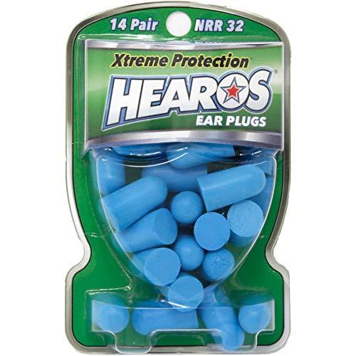 Hearos Ear Plugs Xtreme Protection, ヒーローズ イヤープラグ エクストリーム プロテクション 遮音性の高い耳栓 14ペア
