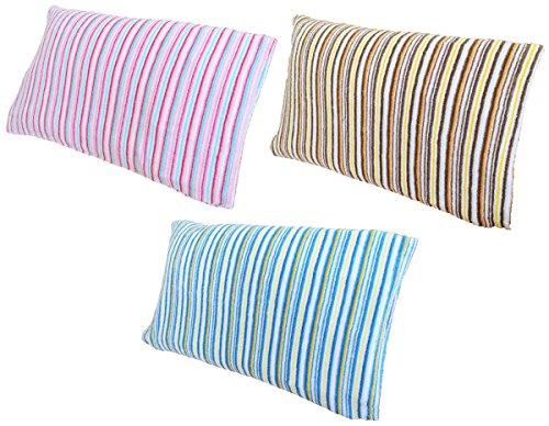 のびのび 筒型 枕カバー(3色組)