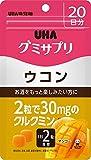 UHAグミサプリ ウコン マンゴー味 スタンドパウチ 40粒 20日分