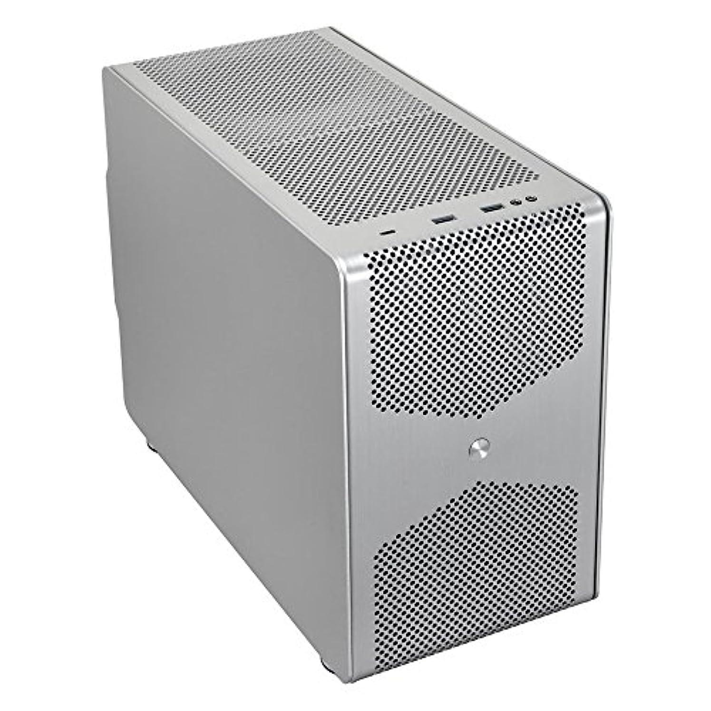 考案する複製する朝食を食べるLian Li 縦置き?横置き可能なミニPCケース Mini-ITX規格 シルバー PC-Q50A 日本正規代理店品