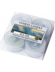 YANKEE CANDLE(ヤンキーキャンドル) YANKEE CANDLE クリアカップティーライト4個入り 「シーエアー」(K00205293)