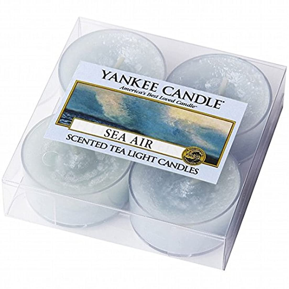 クラウン反発神話YANKEE CANDLE(ヤンキーキャンドル) YANKEE CANDLE クリアカップティーライト4個入り 「シーエアー」(K00205293)