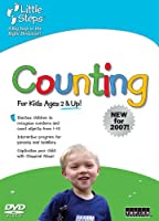 Little Steps: Counting [DVD]
