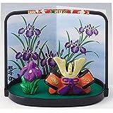 五月人形 コンパクト 陶器 小さい 兜 かぶと/ミニ兜飾り/こどもの日 端午の節句 初夏 お祝い 贈り物 プレゼント