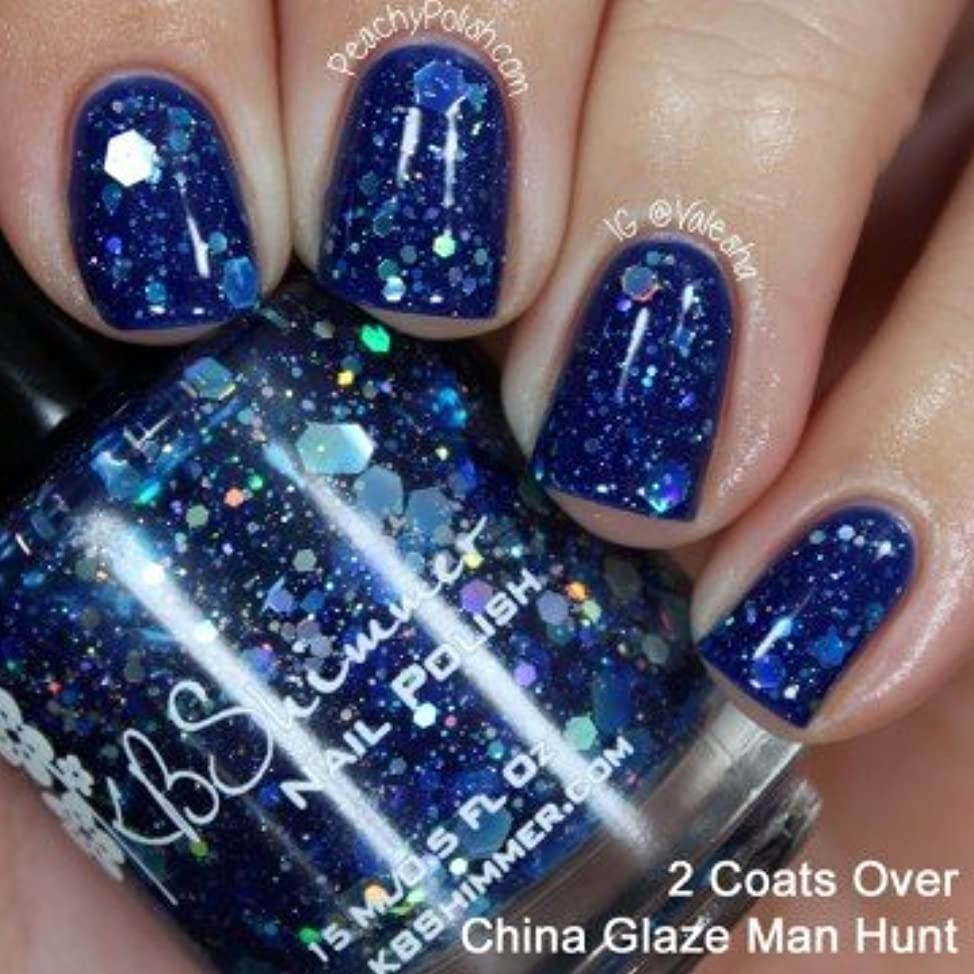 KBShimmer*I Got A Crush On Blue Nail Polish  【並行輸入品】