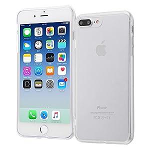 レイ・アウト iPhone8 Plus / iPhone7 Plus ケース ハイブリッド クリア RT-P15CC2/CM