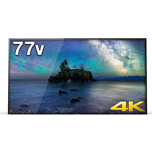 ソニー 77V型 有機EL テレビ ブラビア KJ-77A1 4K Android TV 外付けHDD録画外付けHDD裏番組録画 2017