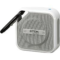 TDK Life on Record  Bluetoothワイヤレスポータブルスピーカー アウトドアに強い防塵・防滴(IP64相当) iPhone対応 NFC対応 TREK Microシリーズ ホワイト A12WH