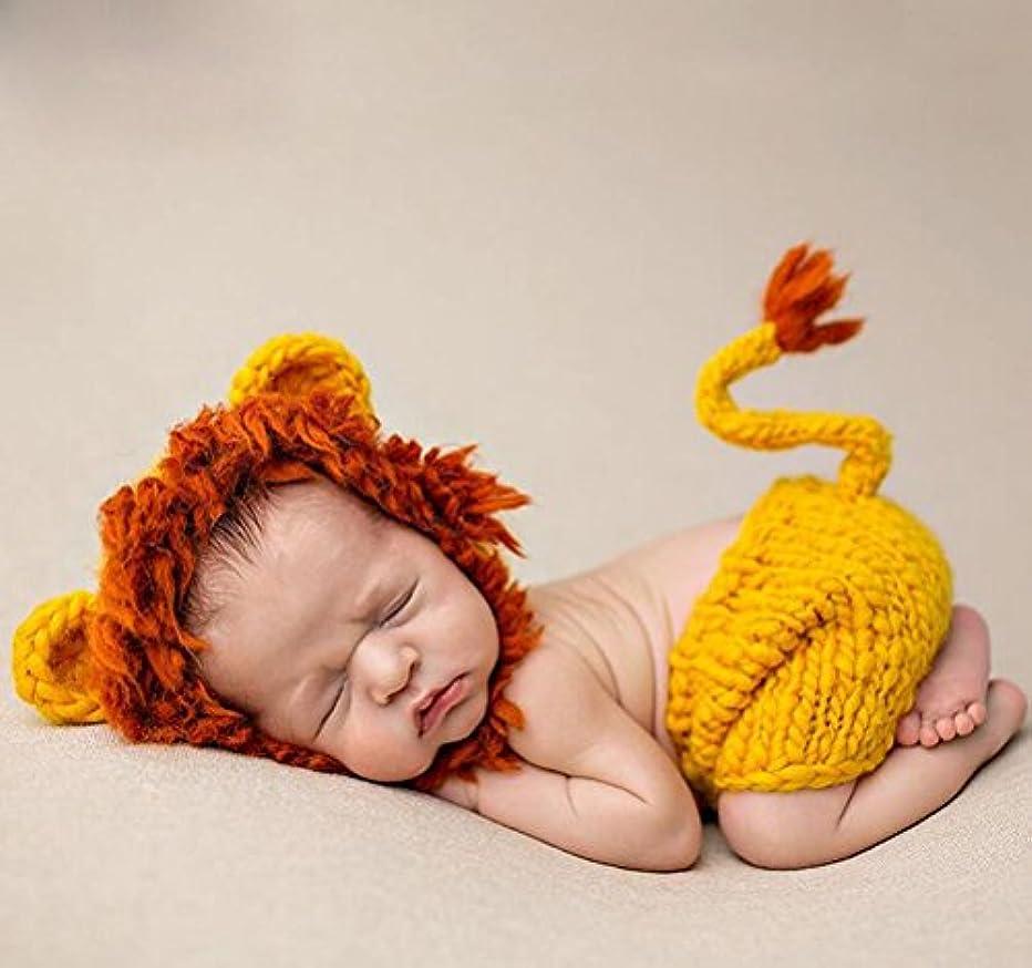つぶす渇きはねかけるJ-LAVIE ライオン 子供用 着ぐるみ 寝相アート ハロウィン コスチューム 写真記念 出産祝い