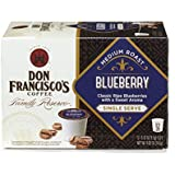 Don Francisco Family Reserve Blueberry, Single Serve Coffee, 12 Count