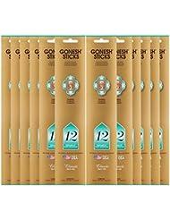 Gonesh Incense Sticks Extra Richコレクションバルク – 番号# 12 – 12パック合計240 )
