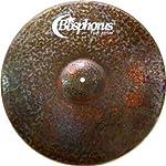 Bosphorus Cymbals K21R 21-Inch Turk Series Ride Cymbal 【TEA】 [並行輸入品]