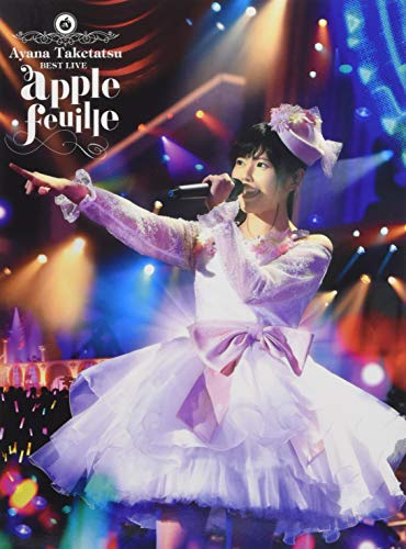 "竹達彩奈 BEST LIVE ""apple feuille"" Blu-ray"