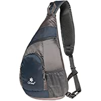 Sling Bag Shoulder Backpack Multipurpose Crossbody Pack for Men Women