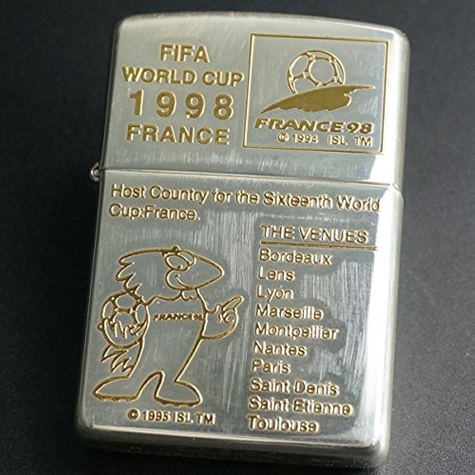ゴシップ流行している害虫ZIPPO(ジッポー)FIFA WORLD CUP FRANCE98 キズあり 1997年製造