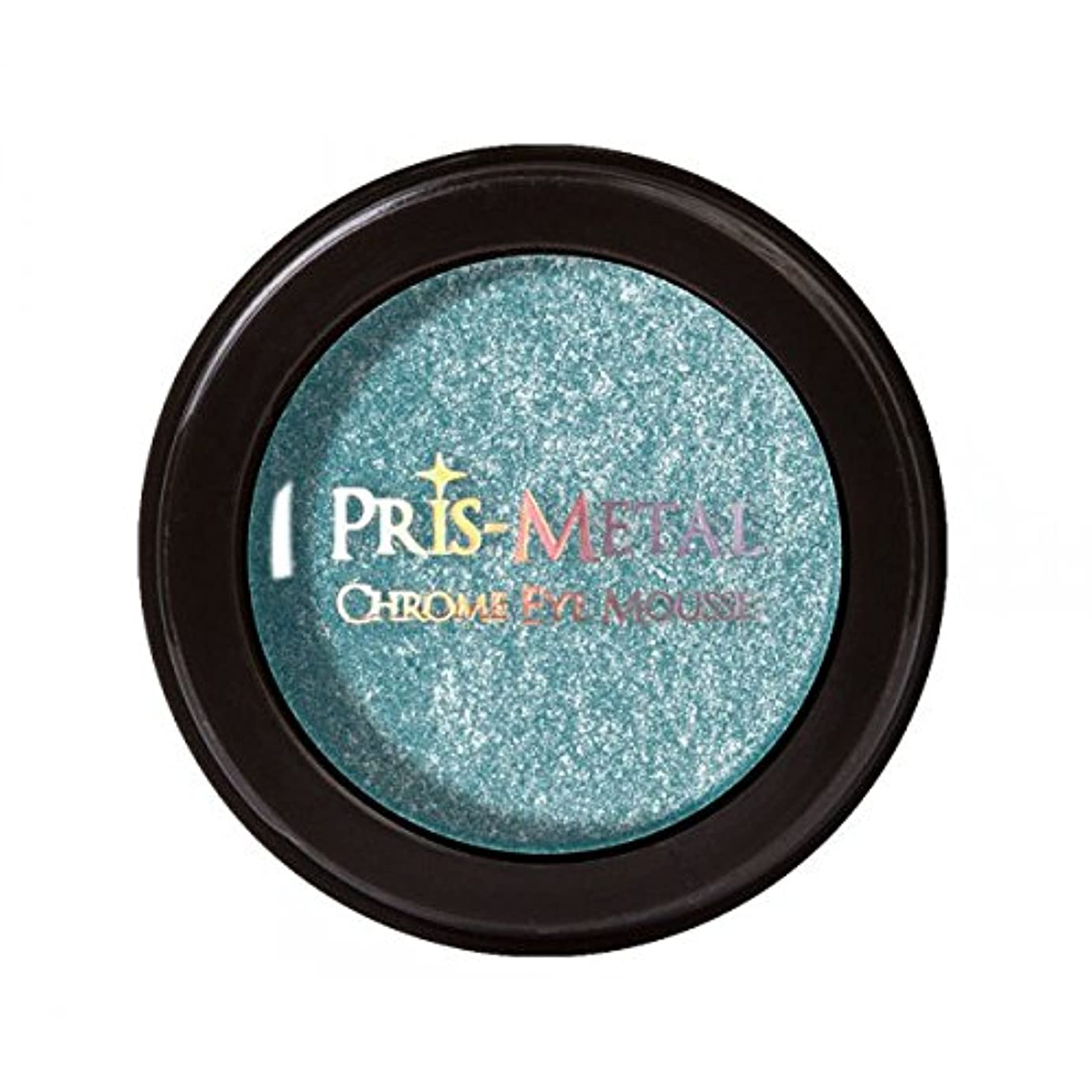 スクランブル計算認可J. CAT BEAUTY Pris-Metal Chrome Eye Mousse - Below Zero (並行輸入品)