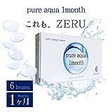 ピュアアクア ワンマンス byZERU. 1ヶ月交換 6枚入り Pure Aqua 1 Month (-3.50)
