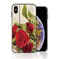 iPhone 6 Plus/6s Plus 携帯カバー レトロ 木紋 バラ 花 カバー TPU 薄型ケース 防塵 保護カバー 携帯ケース アイフォンケース 対応 ソフト 衝撃吸収 アイフォン スマートフォンケース 耐久