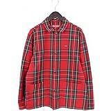 (シュプリーム)SUPREME 【17AW】【shop jacket】タータンチェックショップジャケット(M/レッド調) 中古
