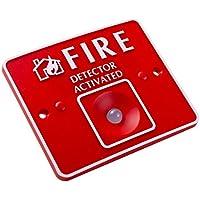 UHPPOTE リモートLED火災検知器 活性化する 伝統的な火災警報制御パネル用