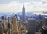 1000ピース ジグソーパズル ニューヨークシティ マンハッタン 光るパズル コンパクトピース(38x53cm)
