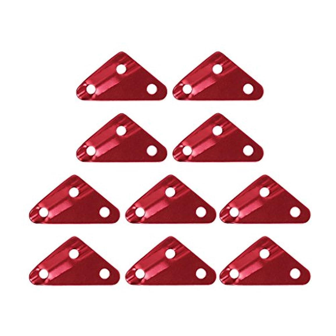 作家溶岩ライターアルミ自在 10個セット 三角形 アウトドア 2サイズ