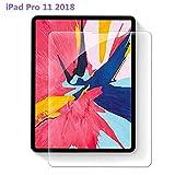 iPad Pro 11 2018 フィルム【 Face ID 対応/ApplePencil (第2世代) 対応 / 2018 新型 iPad Pro 11 インチ対応】, PRODELI 液晶保護ガラスフィルム 指紋防止 強化ガラス 【日本製素材旭硝子製】 自動吸着 高透過率 最高硬度9H 飛散防止 高感度タッチ 気泡ゼロ 2.5Dラウンドエッジ加工 保護フィルム 全面フィルム さらさら