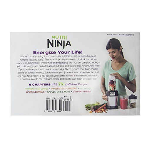 Nutri Ninja 75+レシピGuide to Nutritional Goodness Cook Book | cb450