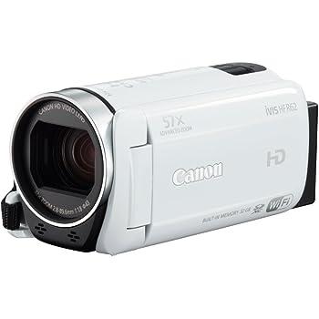Canon デジタルビデオカメラ iVIS HF R62 光学32倍ズーム ホワイト IVISHFR62WH