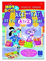 Educational Insights Hot Dots Jr. Interactive Storybooks Ace & Kat at the A To Z Store Pack of 6 [並行輸入品]