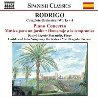 ロドリーゴ:管弦楽作品全集 4 「ピアノ協奏曲」/「ジャグラーたち」/他