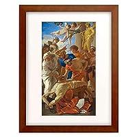 ニコラ・プッサン Nicolas Poussin 「Martyrdom of St. Erasmus」 額装アート作品