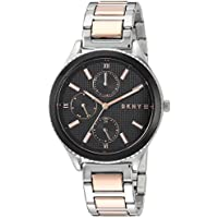 DKNY Women's 'Woodhaven' Quartz Stainless Steel Casual Watch, Color:Silver-Toned (Model: NY2659)
