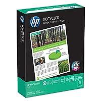 HP用紙、30%リサイクルコピー用紙、20lb、8.5X 11、手紙、92明るい、500シート/ 1Ream、( 112100r、Made in the USA