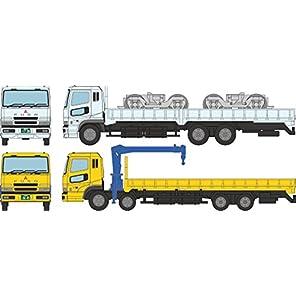 ザ・トラックコレクション トラコレ 平荷台大型トラック セットB ジオラマ用品