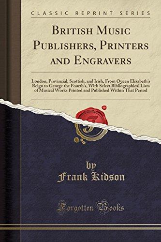 British Music Publishers, Prin...