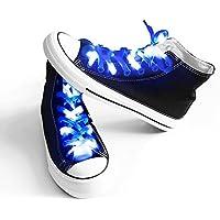 apexpower LEDライト防水靴紐Shoestringフラッシュライト、ヒップホップダンスのナイトパーティースケートRunningコスプレデコレーションRunning
