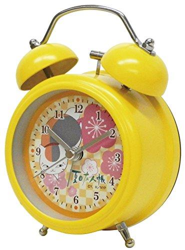 夏目友人帳 目覚まし時計 ツインベルクロック ミニ イエロー RM-4912の詳細を見る