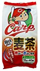 【大幅値下がり!】寿老園 カープ麦茶 400g(10g×40P)×5袋が激安特価!