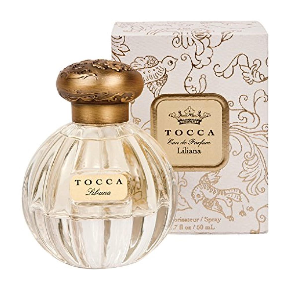 蒸気鳩男らしさトッカ(TOCCA) オードパルファム リリアナの香り 50ml(香水 ガーデンパーティーに漂うミュゲ、ガーデニア、ピオニーの花束の魅惑的な香り)