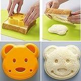 QTMY Little Bear Shape Sandwich Bread Cake Mold Maker DIY Mold Cutter Craft