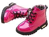 Plus Nao(プラスナオ) ブーツ 子供用ブーツ キッズブーツ ジュニアブーツ ショートブーツ レインブーツ 防水 編み上げ レースアップブーツ