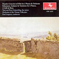 Dussek: Concerto In B Flat For 2 Pianos & Orchestra / Schumann: Andante & Variations for 2 Pianos (2013-05-03)