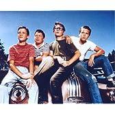 ブロマイド写真★『スタンド・バイ・ミー』車に座る4人/カラー/リバー・フェニックス、コリー・フェルドマン、ジェリー・オコネル、ウィル・ウィートン
