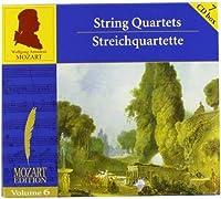 Vol. 6-Mozart Complete Edition by Sonare Quatuor & Sharon (1900-01-01)