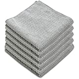 Microfiber Dish Cloths for Kitchen - Kitchen Cleaning Dish Cloth Towels Set, Absorbent Glass Cleaning Cloths for House - Extr