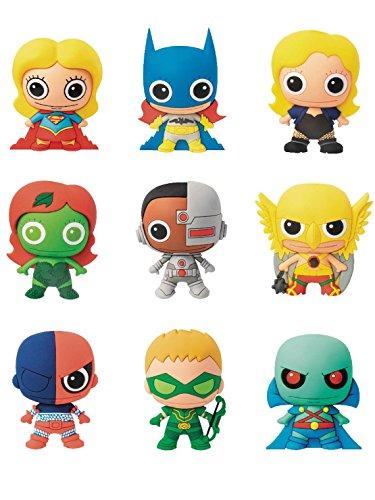 DCコミックス/ レーザーカット フィギュラル・キーリング シリーズ4: 24個入りボックス