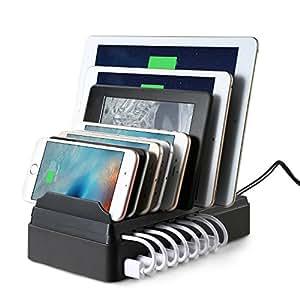 EReach ライトニングUSB充電ケーブル&micro USBケーブル 2in1 iPhone IOS/Androidシステム対応 高耐久ナイロン データ転送も可能 30cm(4本セット) (CS007-JP)