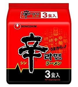 農心 辛ラーメン 袋 3食P
